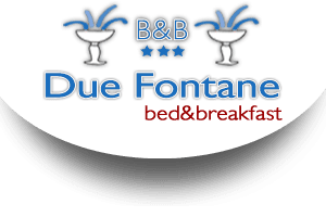 logo bed and breakfast due fontane